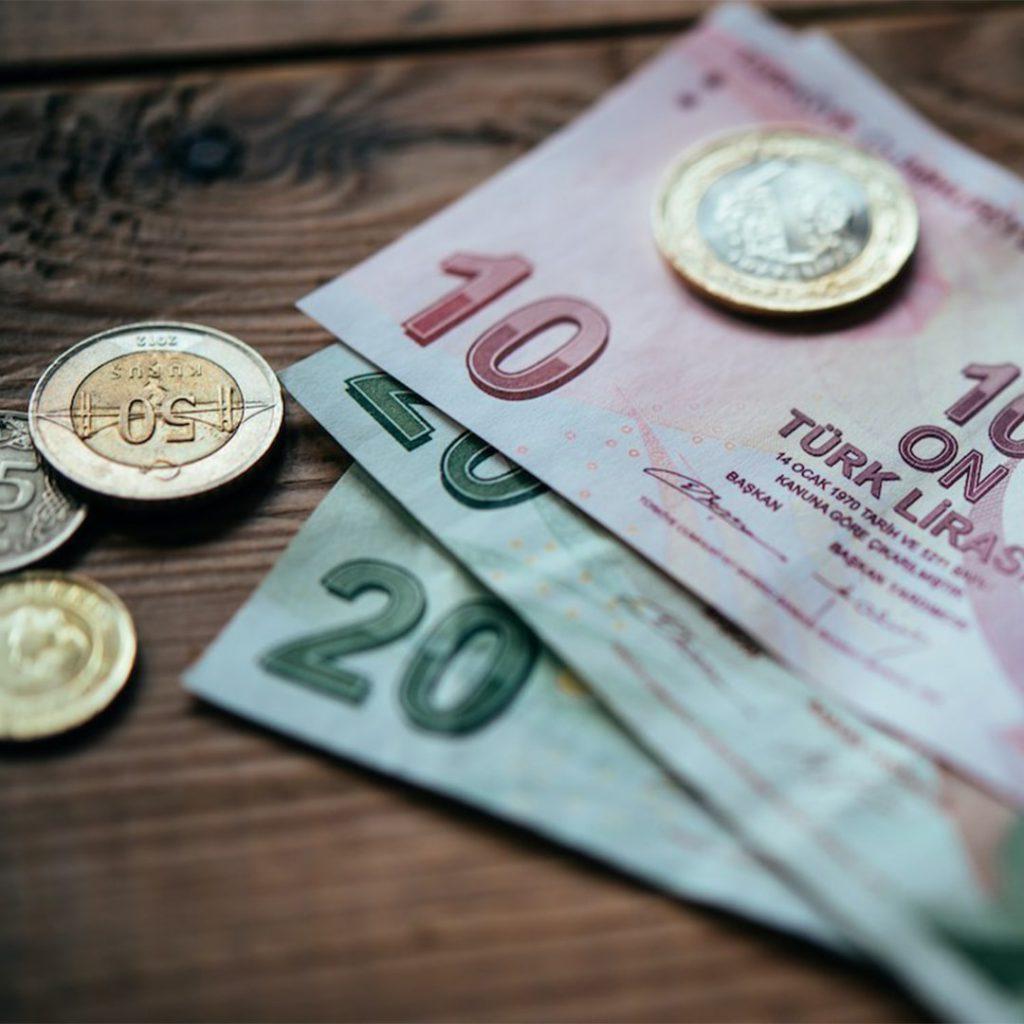 para, 20 lira, 10 lira, nakit, banknot, kağıt para, bozuk para, metelik, ücret, maaş, fiyat