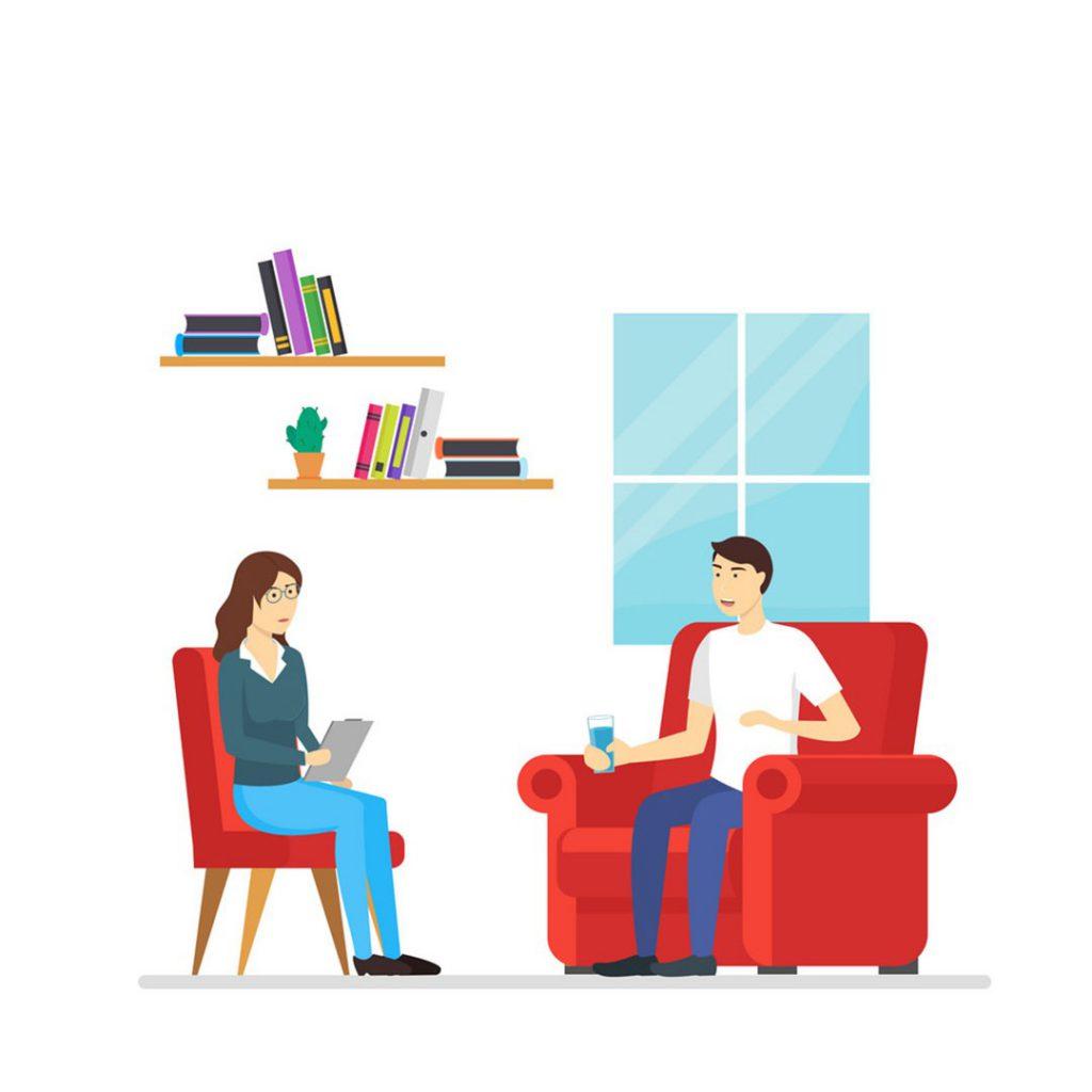 psikoterapi, psikolog desteği, psikolojik görüşme, psikiatri randevusu, psikiatrist, hasta muayene etme