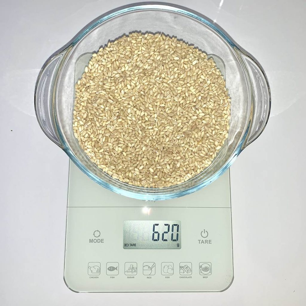 Sağlıklı aşure tarifi - aşurelik buğday