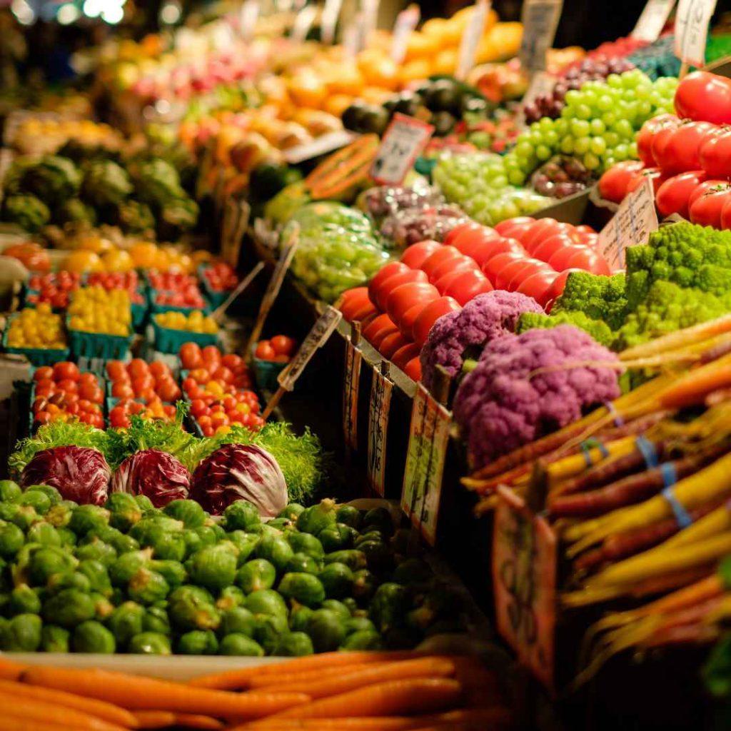 Pazar, meyve pazarı, sebze pazarı, semt pazarı, kasım ayı meyve sebze hali