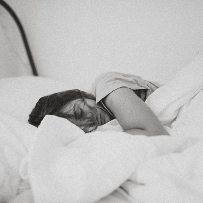 depresyon, uyku, yatak, uykusuz, beyaz, kadın, yorgun