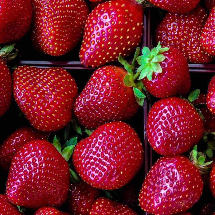 çilek, kırmızı, meyve, yaz meyvası, strawberry