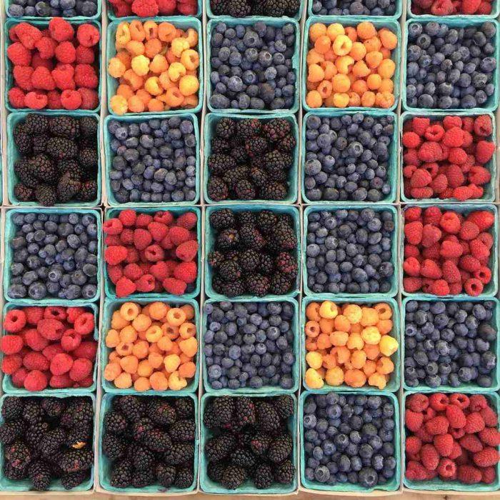 meyve, antioksidan, berry, çileksi meyveler