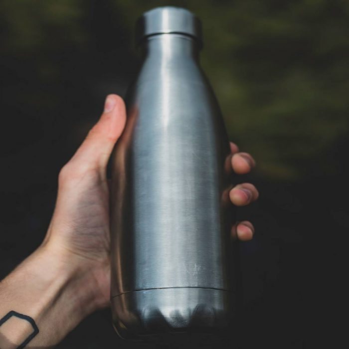 su, içme suyu, temiz kalabak su, hamidiye su, metal su matarası