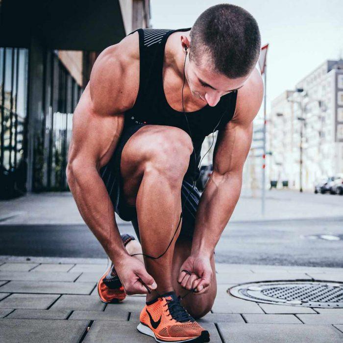 atletik, sporcu, ayakkabı, yürüyüş, erkek