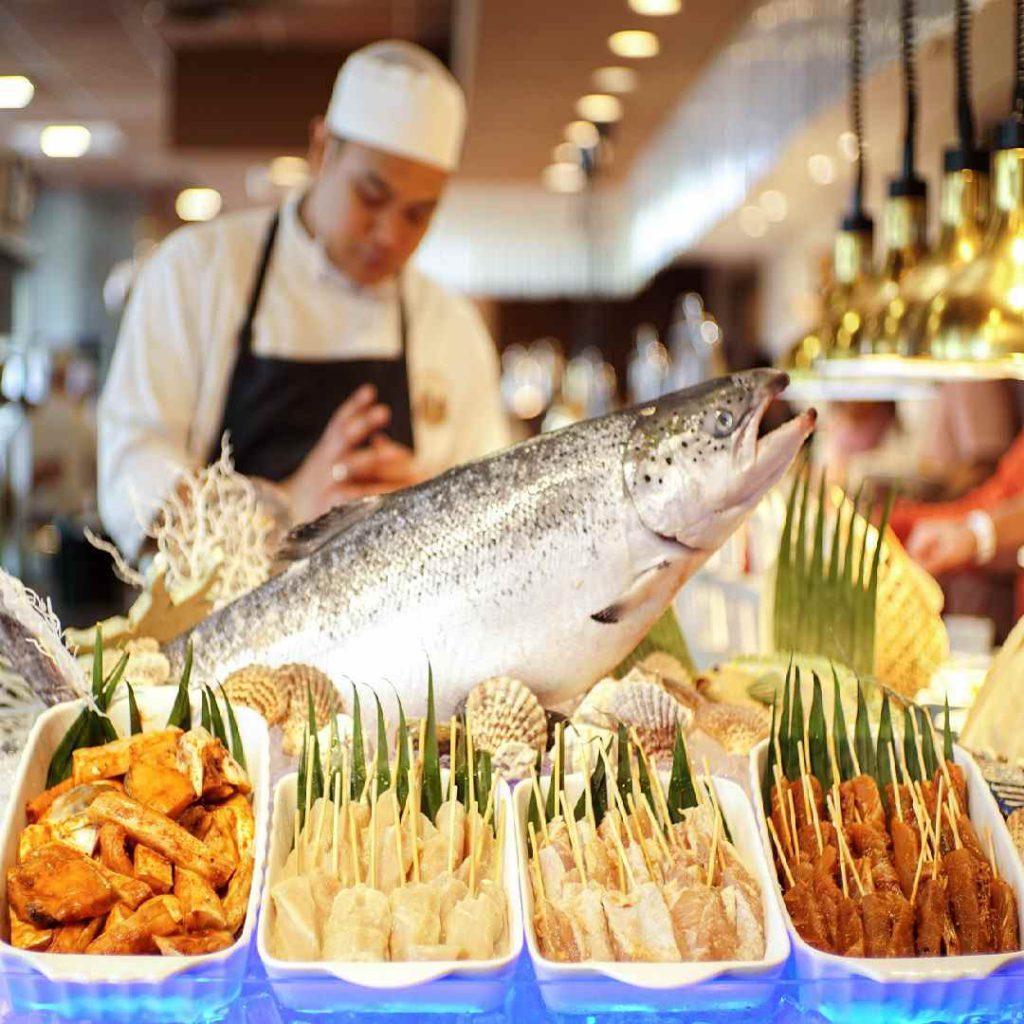 balık, büyük balık, aşçı, su ürünleri, deniz