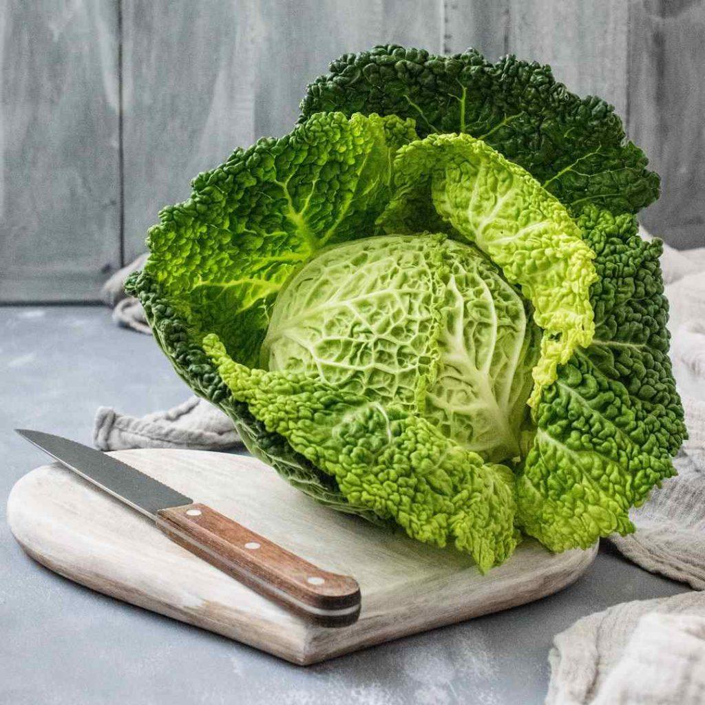 yeşillik, aysberg, lahana, kelem, sebze, bıçak