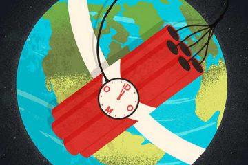 dünya, panik, kaygı, şok, tehlike, tehdit, dinamit