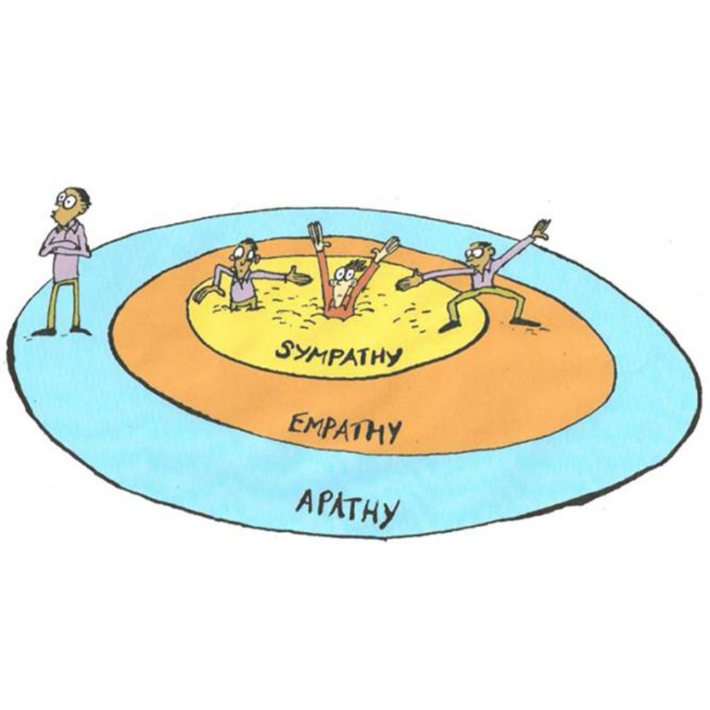 empati, iletişim, sempati, duygular, yardım