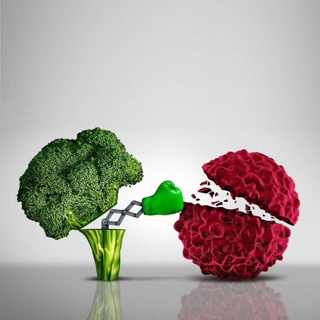 kanserde beslenme, onkolojide beslenme, brokoli, boks