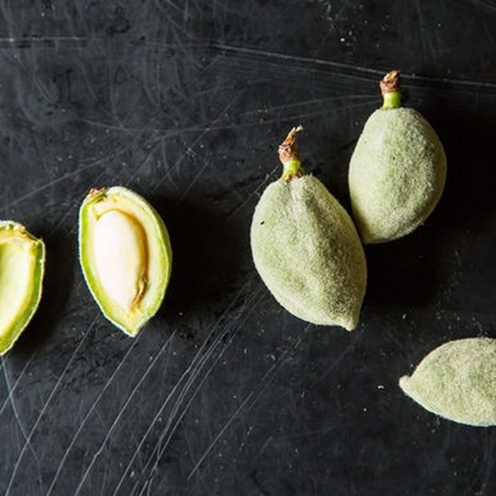 unripe almond, çağla