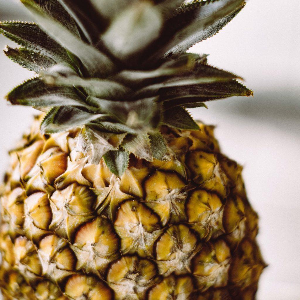 ananas, kabuklu ananas, tropik meyve