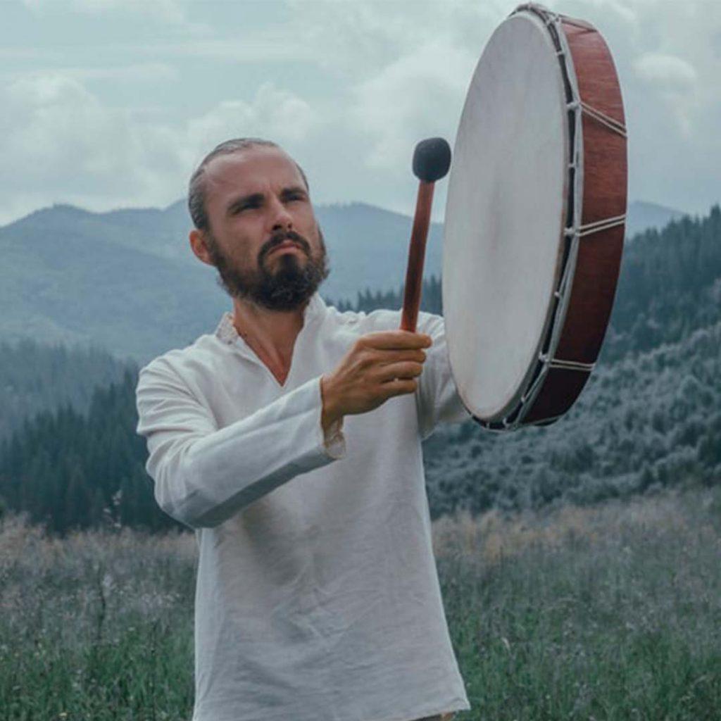 erkek, davul, gömlek, müzik, doğa, meditasyon