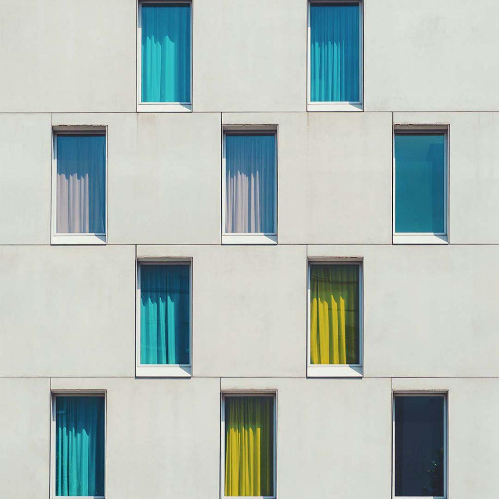 obsesyon, takıntı, sayma, pencereler, bina, duvar, sayma takıntısı