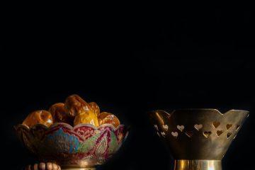 ramazan ayı, hurma, kuru hurma meyvesi, kuru meyve, siyah, oruç