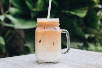 smoothie, süt, muz, içecek