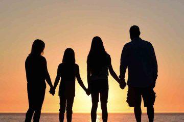 aile, destek, deniz, günbatımı, huzur, ergen,ergenlik, sosyal destek