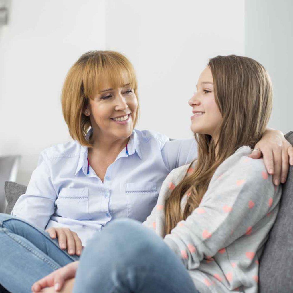 ergen, anne, kız, konuşma, dinleme, ergen,ergenlik