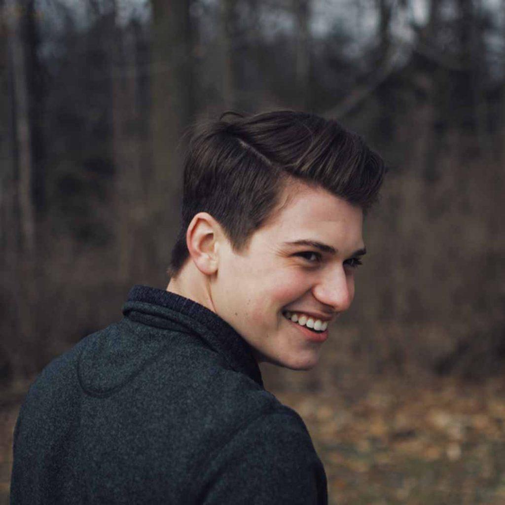erkek, mutlu, gülümseme, ergen, ergenlik, adam