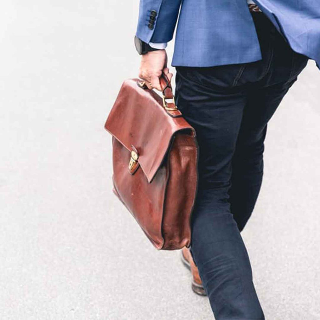 iş, işe gitme, erkek, çanta,, uyum, itaat