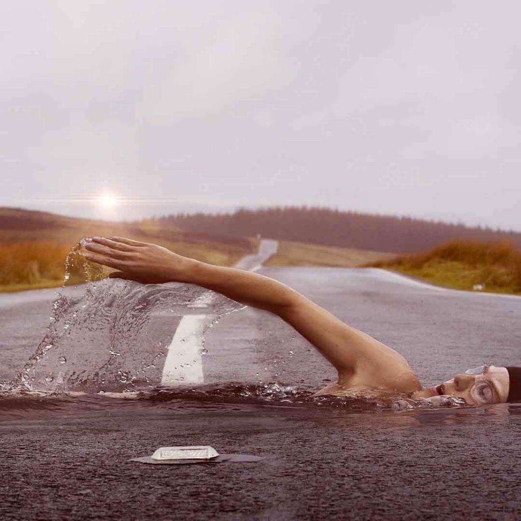 rüya, rüyalar, rüya ne işeyarar, yüzücü, yüzmek, yol
