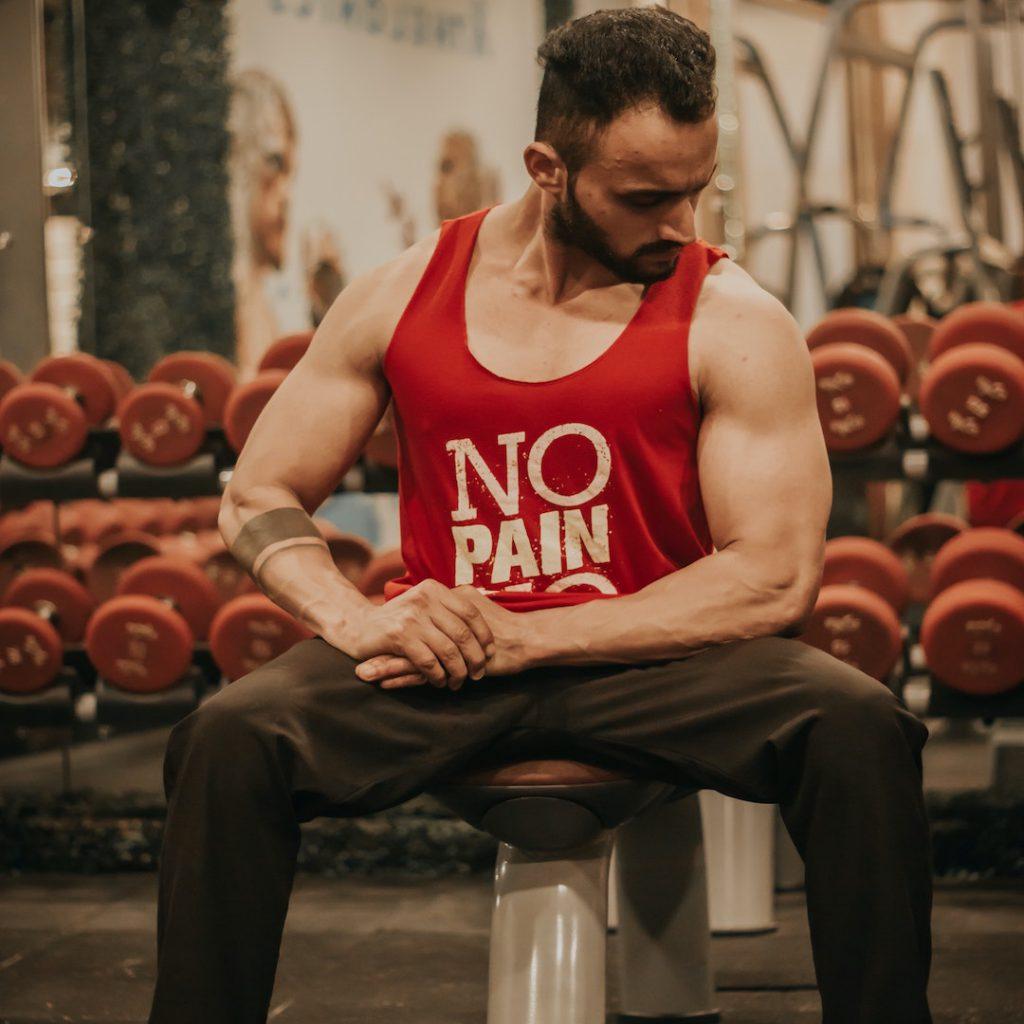 sporcu, fitness, erkek, kas gelişimi, biceps, kol