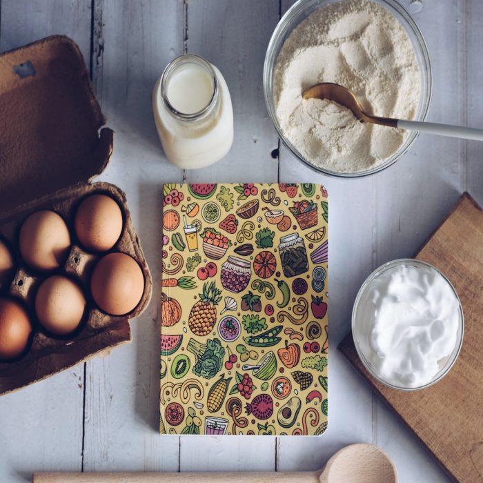 yumurta, un, kesme tahtası, tarif, yemek hazırlama, mutfak