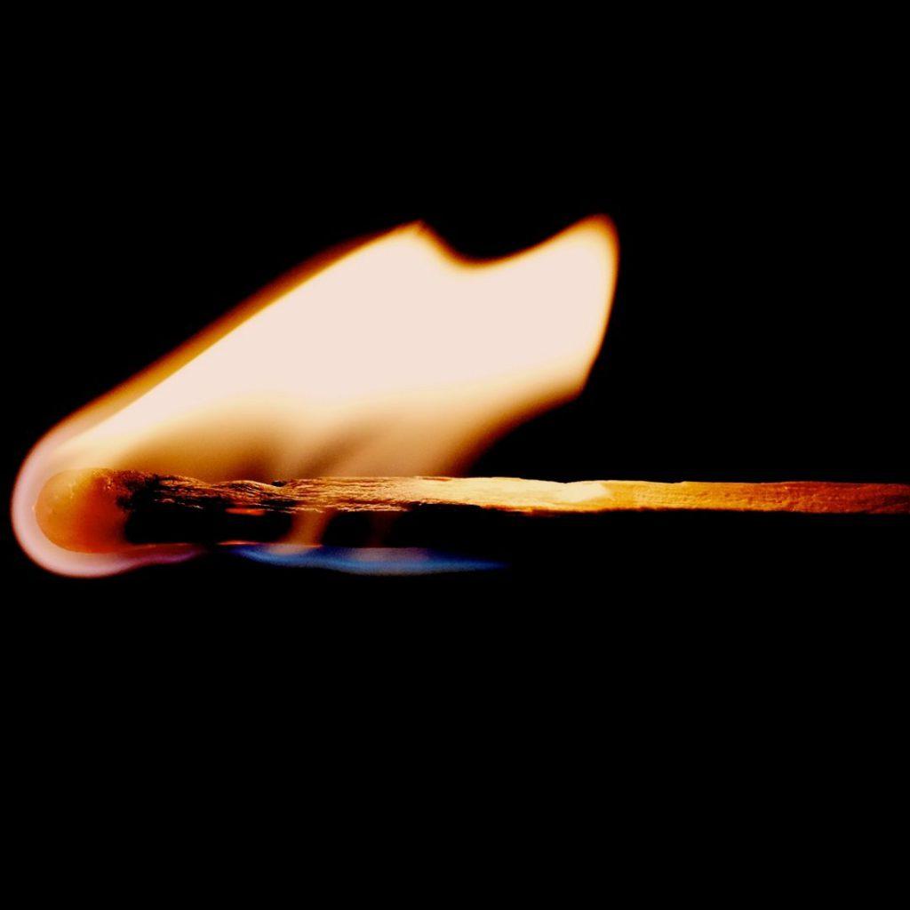 ateş, kibrit, yanık, alev