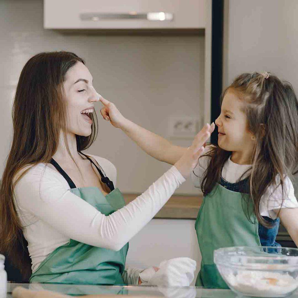 çocuk, anne, yemek, aperatif, alternatif, etkinlik, mutfak, aile