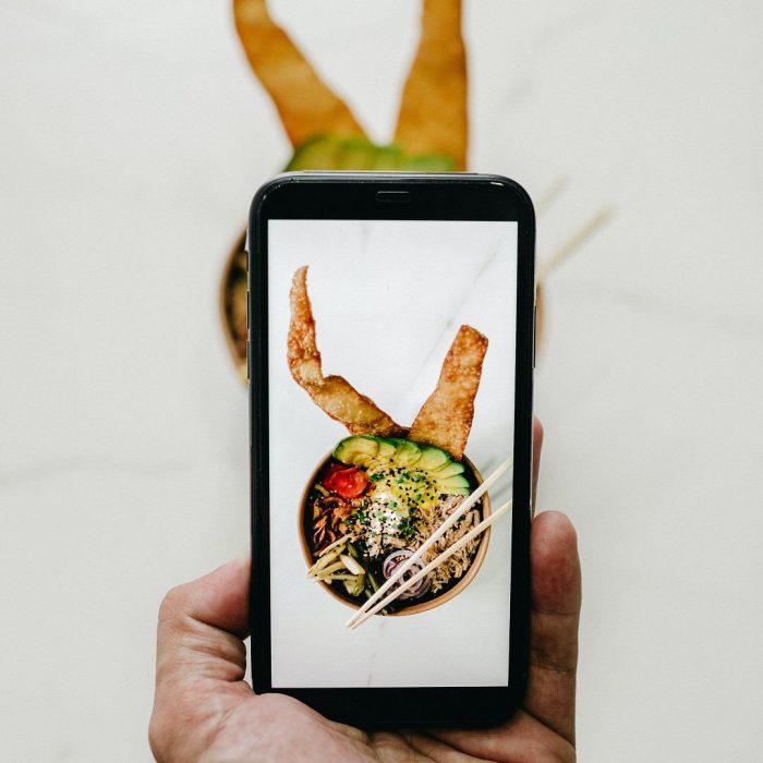 yemek, gıda, fotoğraf, telefon, kamera, yemek fotoğrafçılığı, online diyet