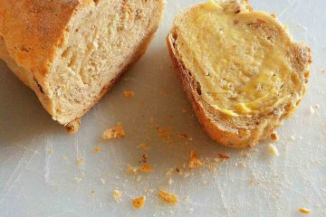ekmeğe sürülmüş yağ, ekmeğine yağ çalmak, tereyağı, doğmuş yağ, ekmek, dilim, porsiyon