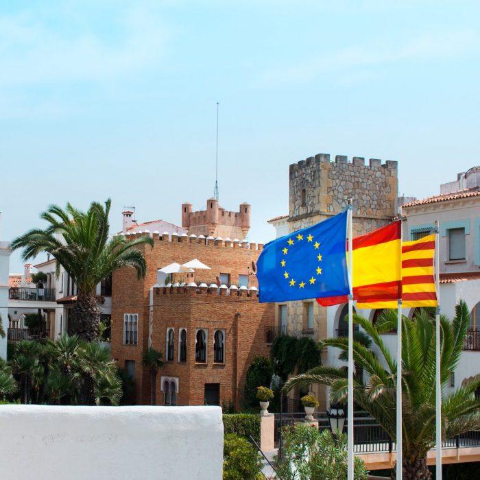 İspanya, Avrupa, bayrak, Spain