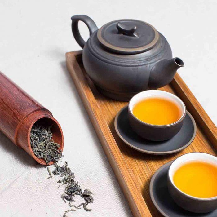 adaçayı, çay, demlik, kupa, bitki çayı, iki, sohbet