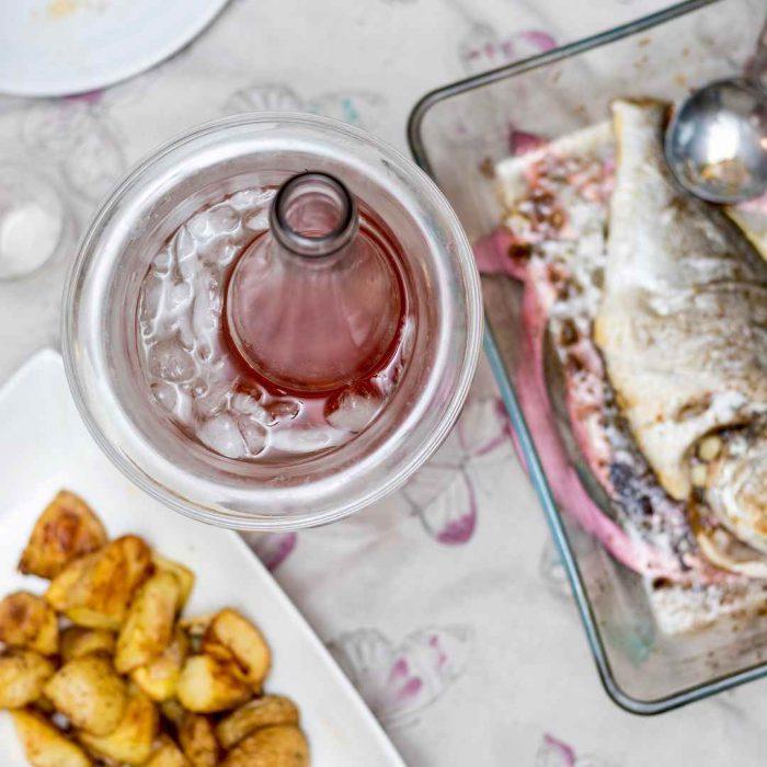 balık yemeği, menü, öğün, içecek
