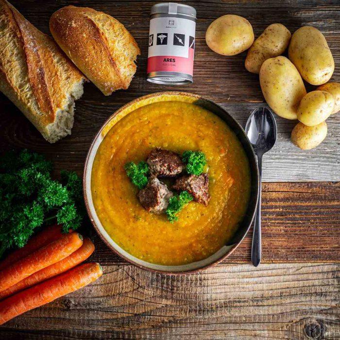 ekmek, havuç, çorba, mercimek çorbası, patates, yemek, yeşillik, öğün, menü