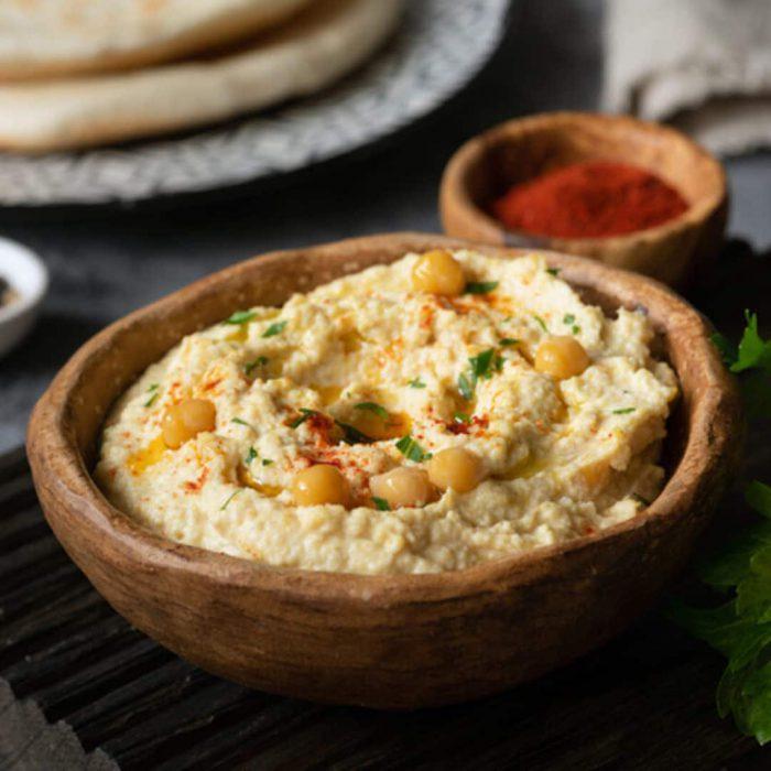 humus, nohut yemeği