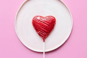 kalp, pembe, beyaz, kırmızı, çikolta, tabak, tatlı, aşk, duygu