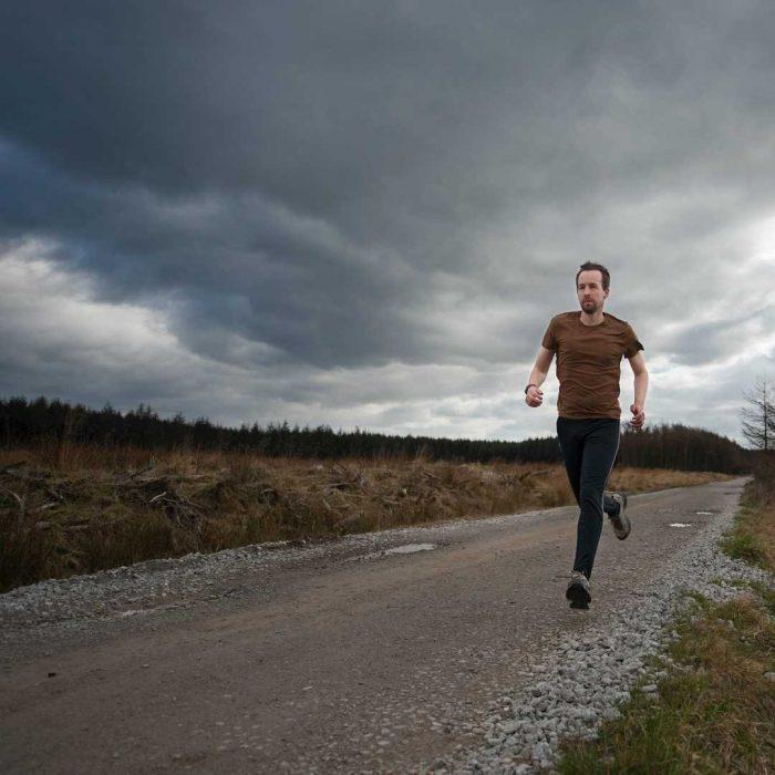 koşu, yürüyüş, doğa, erkek, adam, spor