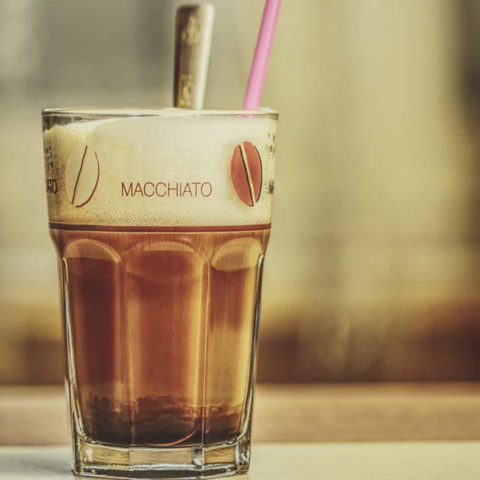 macchiato, kahve, süt köpüklü kahve