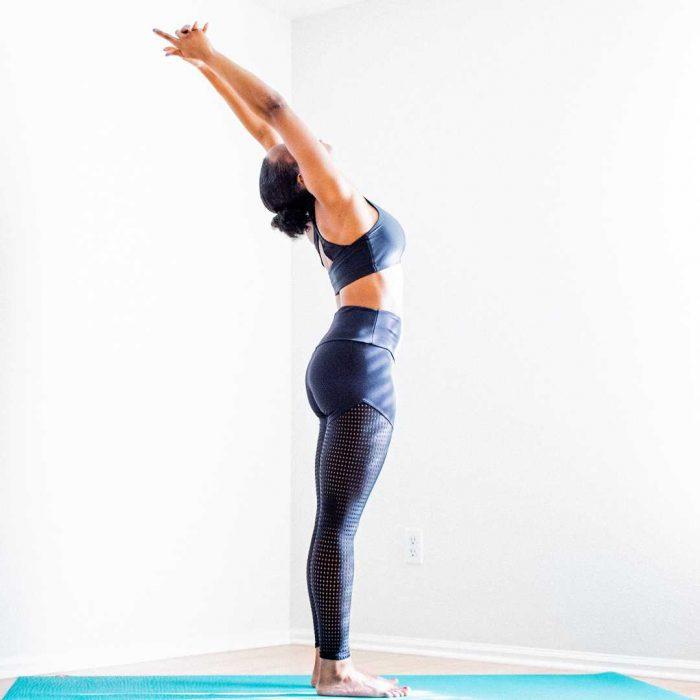 spor, kadın, egzersiz, fitness, spor salonu, vücut geliştirme, dik durma, yoga, beyaz