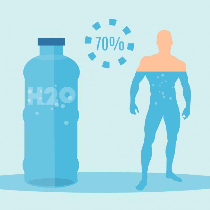 su, inorganik bileşik, vücut, insan