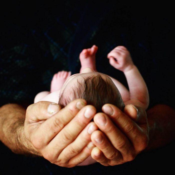 yenidoğan, baba, bebek, doğum, infant