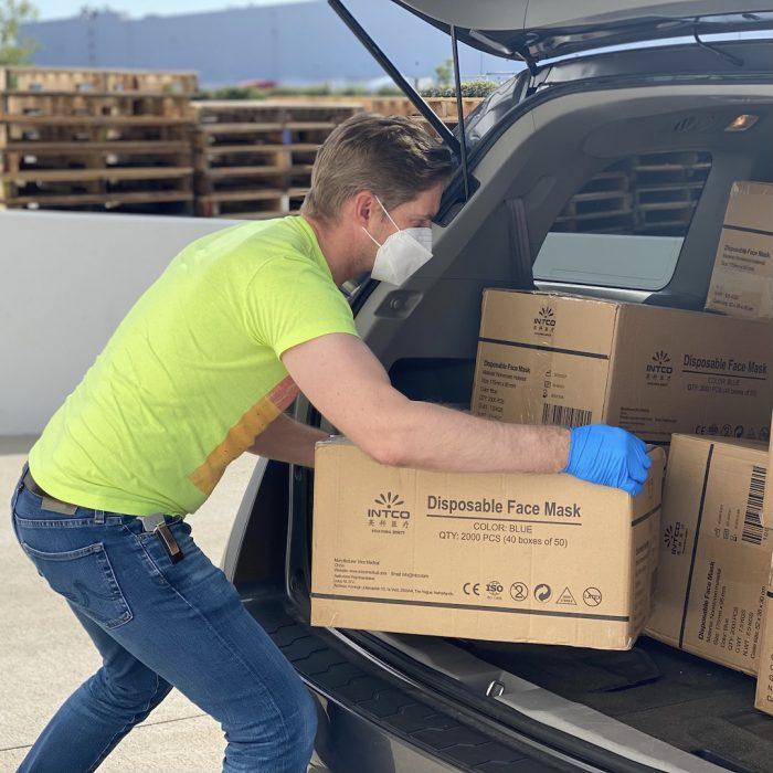 yük taşıma, ağırlık kaldırma, kutu, iş yapma