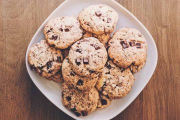 kurabiye, bisküvi, cookie, damla çikolata, şeker, hamur, tatlı, ara öğün