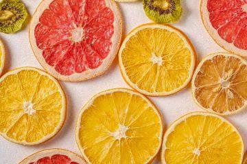 kuru meyve, kurutulmuş meyva, greyfurt, limon, portakal, kivi