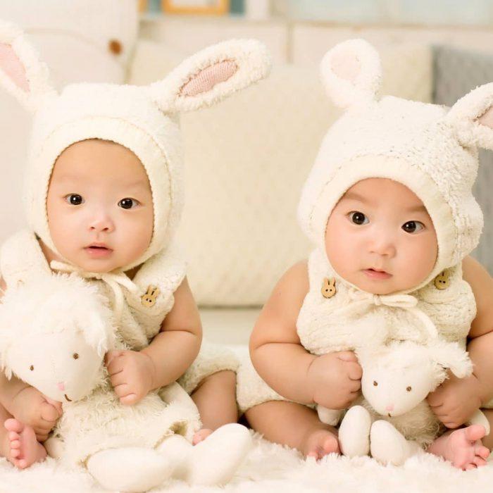 zeka, zeki, ikiz, bebek, genetik