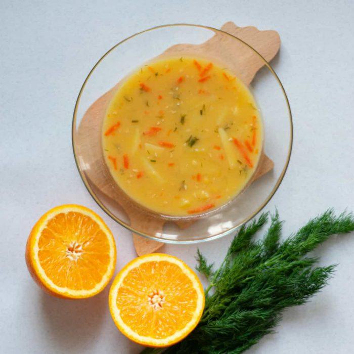 çorba, smoothie, soğuk çorba, maydonoz, maydanoz, portakal, turuncu, yemek, ana yemek