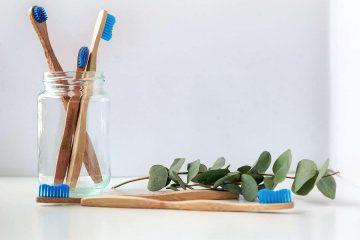 yeşillik, lavabo, diş fırçası, tahta, odun, ahşap, diş fırçalama, sürdürülebilir yaşam, sürdürülebilir beslenme