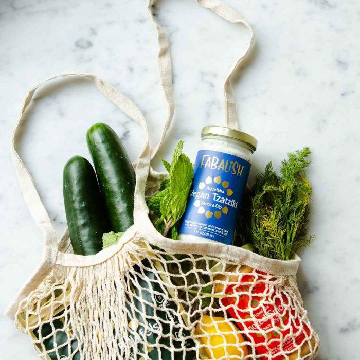 salatalık, dereotu, limon, file, vegan, yeşillik, alışveriş, torba, file, bez poşet, sürdürülebilir yaşam, sürdürülebilir beslenme