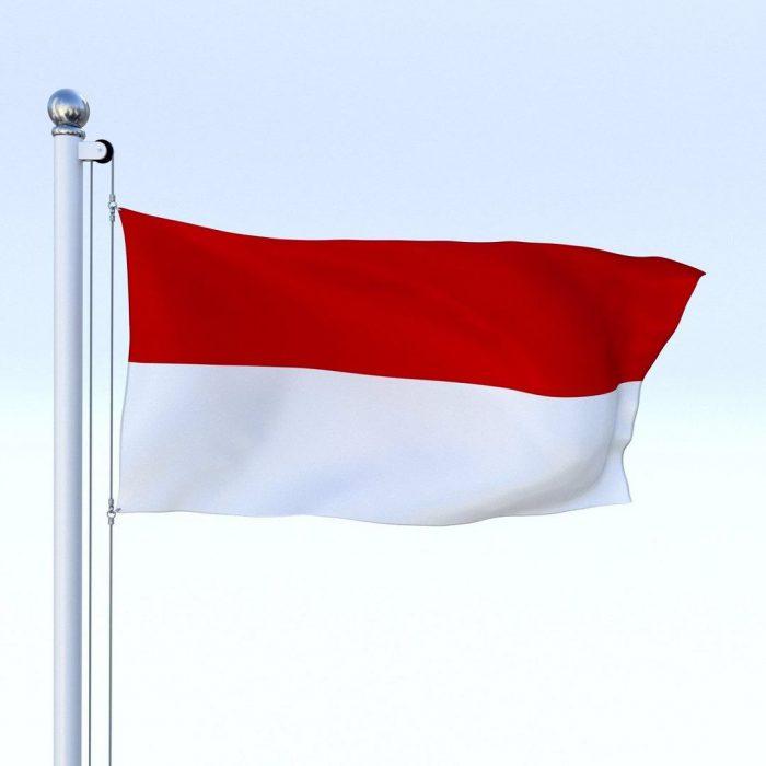 Endonezya bayrağı, Asya ülkeleri, kırmızı beyaz, Endonezya yemekleri